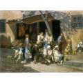 Група селяни на пазар в София – 1903