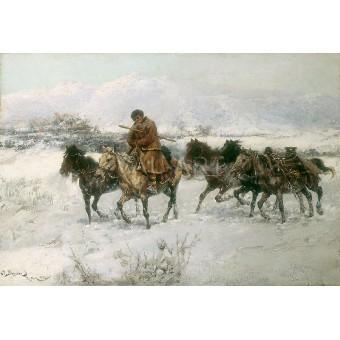 Връщане от пазар – 1898