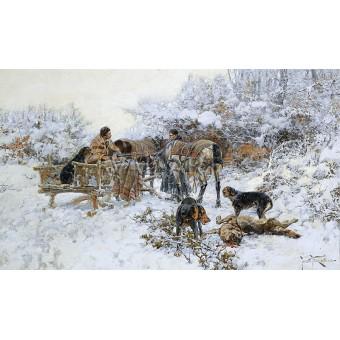 Зимен лов - 1914