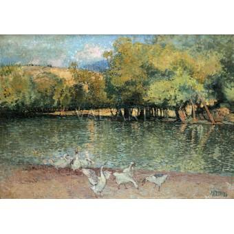 Река Ерма при Трън – 1910