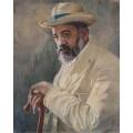 Портрет на Пенчо Славейков – 1910