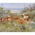 Градината на Силия Такстер - островите Шоал, Мейн – 1890