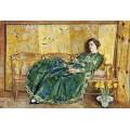 Април (Зелената рокля) – 1920