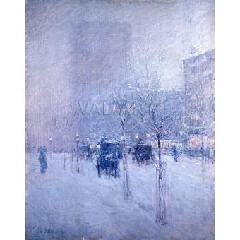 Късен следобед в зимен Ню Йорк  – 1900