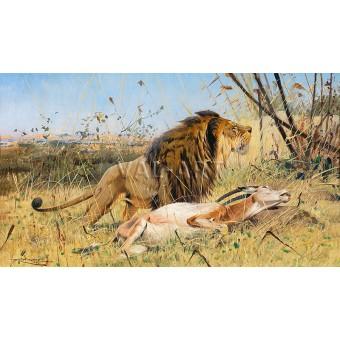 Лъв с плячка (1894)