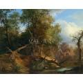 Горски пейзаж (1854)