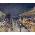 Булевард Монмартр нощем (1897)