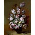 Натюрморт с цветя (1672)