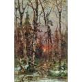 Залез през зимата (1901)
