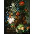 Натюрморт с цветя и плодове (1720)