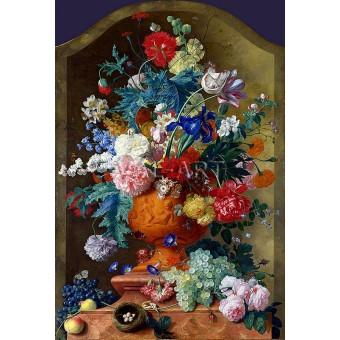 Цветя в керамична ваза (1736)