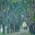 Паркова алея в замъка Камер (1912)
