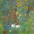 Градина със слънчогледи (1906)