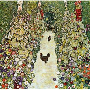 Градина с кокошки (1916)