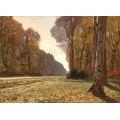 Пътека в гората на Фонтебло (1865)