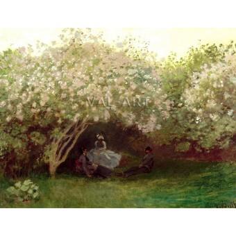 Люляци в мрачен ден (1872)