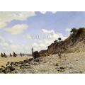 Крайбрежие в Онфльор (1864)