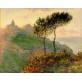 Църквата във Варенгевил, огряна от слънце (1882)