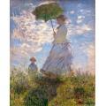 Жена със слънчобран (1875)