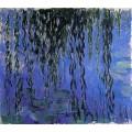 Водни лилии и клонки плачеща върба (1919)