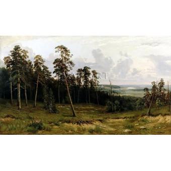 РЕПРОДУКЦИИ НА КАРТИНИ Краят на гората (1879)