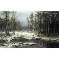 РЕПРОДУКЦИИ НА КАРТИНИ Първи сняг (1875)